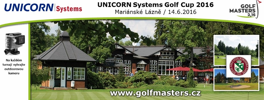 UNICORN SYSTEMS CUP - GOLF MASTERS 2016 presented by Golfista roku